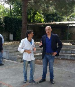 Il Sindaco Iaccarino ed il Presidente della sezione WWF d'Esposito