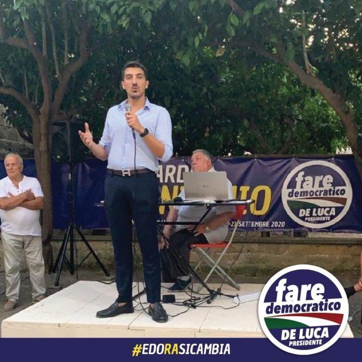 Regionali Edoardo D Antonio Inaugura Il Comitato Elettorale A S Antimo Agora Informa